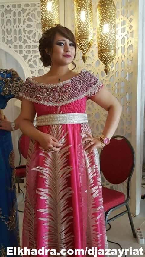 احدث موديلات لفساتين تصديرة العروس الجزائرية 2017