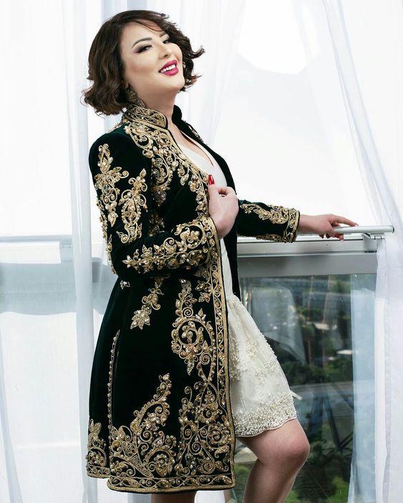 neveux model karakou algérois modern pour les marier 2020 2