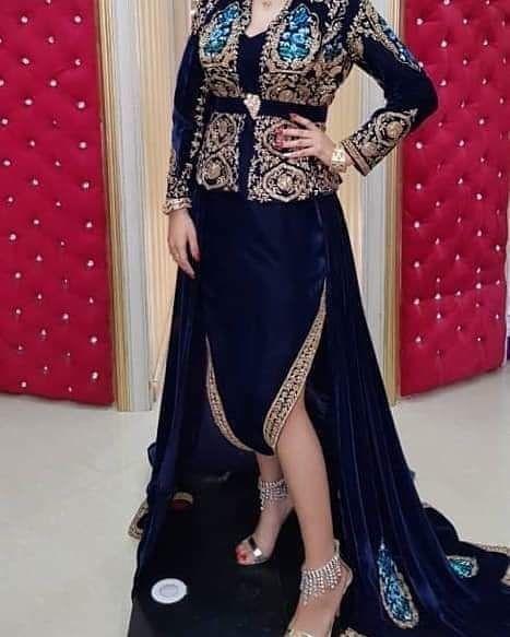 neveux model karakou algérois modern pour les marier 2020 5