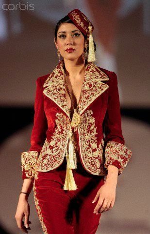 neveux model karakou algérois modern pour les marier 2020 10