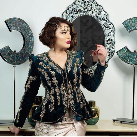 neveux model karakou algérois modern pour les marier 2020 8