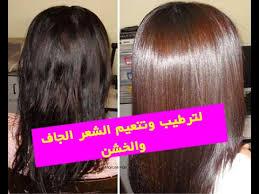 خلطات لترطيب الشعر الجاف والخشن 2