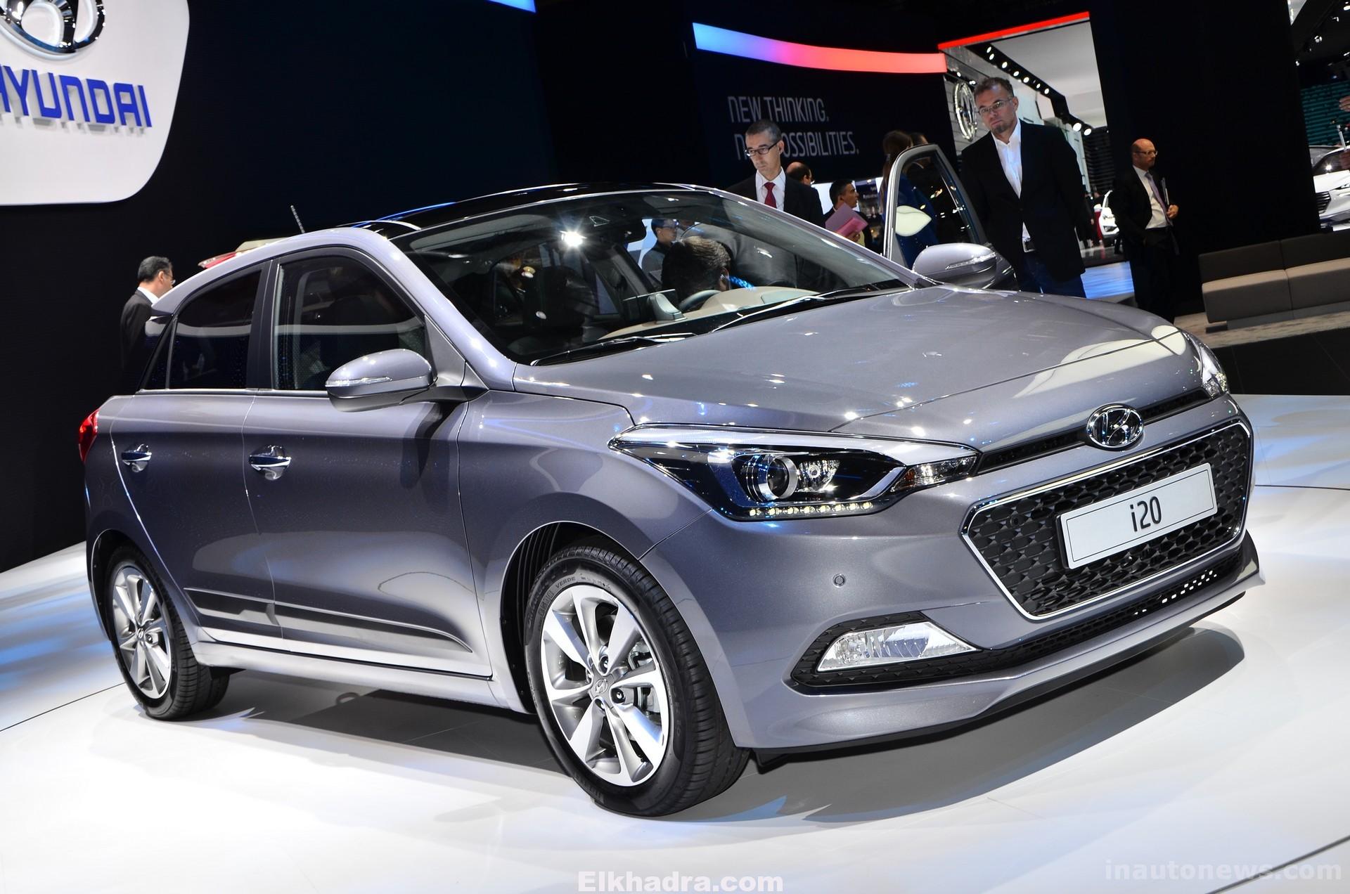 Salon automobile d'Alger 2015 : Nouvelle Hyundai i20 ...