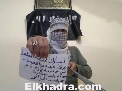 le calife des musulmans Abou Bakr al-Baghdadi