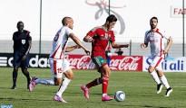 Eliminatoires CAN U23: Maroc 1-0 Tunisie 26