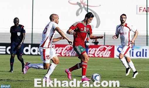 Maroc 1-0 Tunisie