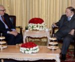 Bouteflika reçoit Lakhdar Brahimi