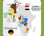 le calendrier des matchs complet CAN 2017, Africa Cup of Nations 7