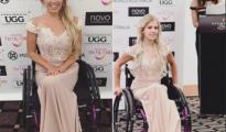 Photos : Justine Clarke est la première femme en fauteuil roulant à participer au concours de Miss Monde 17