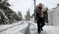 Algerie: Chutes de neige sur les reliefs du Nord 7