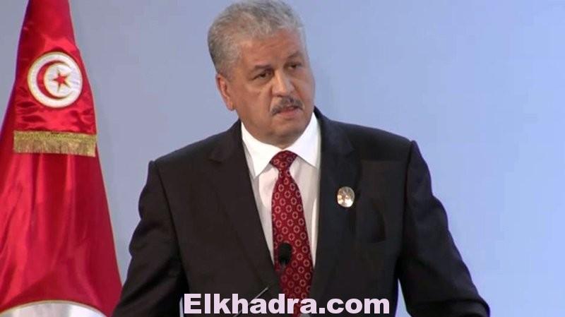 Abdelmalek Sellal en visite à Tunis pour co-présider la Grande commission mixte 4