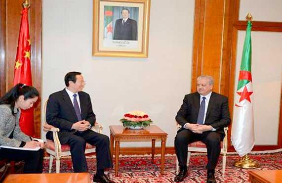 Sellal reçoit le ministre chinois de l'Agriculture : conforter la coopération et le partenariat 2