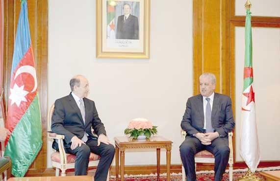 Sellal reçoit le ministre azerbaïdjanais de la Justice : Renforcement de la coopération 4