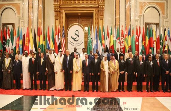 Bensalah s'entretient avec les Présidents Béji Caid Essebsi, Donald Trump 4