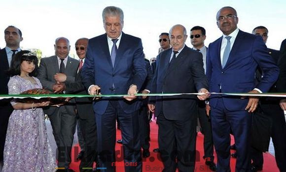 Sellal inaugure la 50e édition de la Foire internationale d'Alger 2