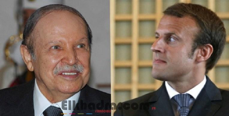 Macron s'est entretenu au téléphone avec le président Bouteflika 4