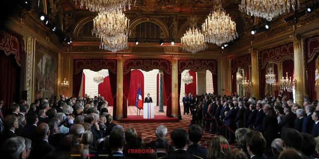Emmanuel Macron a été investi officiellement 8e président de la France 4