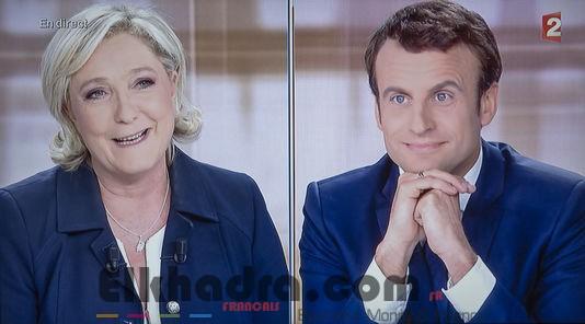 Présidentielle 2017 : Macron et Le Pen étalent leurs divergences lors d'un débat brutal 4