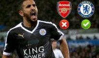 Arsenal, Tottenham et Chelsea sur les rangs pour Mahrez 28