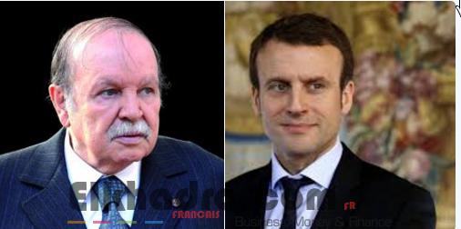 Bouteflika félicite le nouveau président français Emmanuel Macron 4