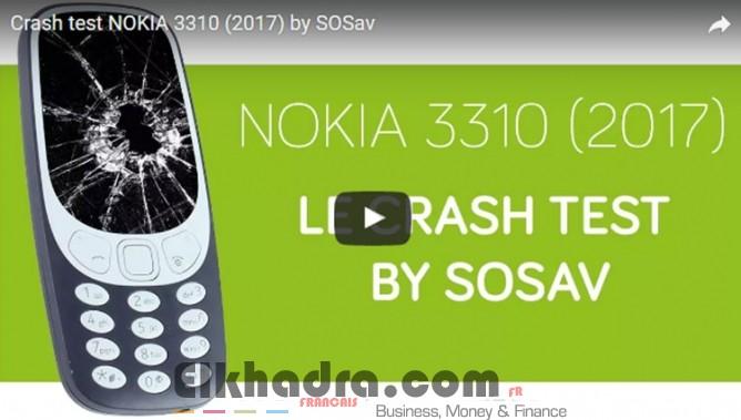 crash test du nokia 3310 2017 un t l phone solide. Black Bedroom Furniture Sets. Home Design Ideas