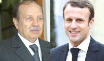 Bouteflika s'entretient avec son homologue français Macron 23