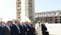 Tebboune ordonne l'accélération de la cadence de réalisation de la Grande mosquée d'Alger pour sa réception avant la fin 2017 22
