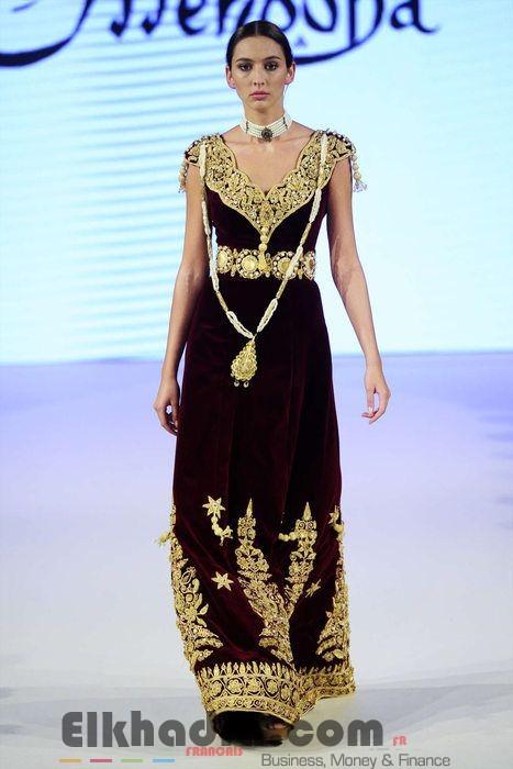 Robe constantinoise moderne - Robe traditionnelle algerienne 5