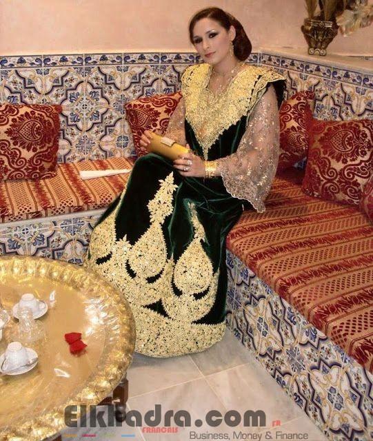 Robe constantinoise moderne - Robe traditionnelle algerienne 4