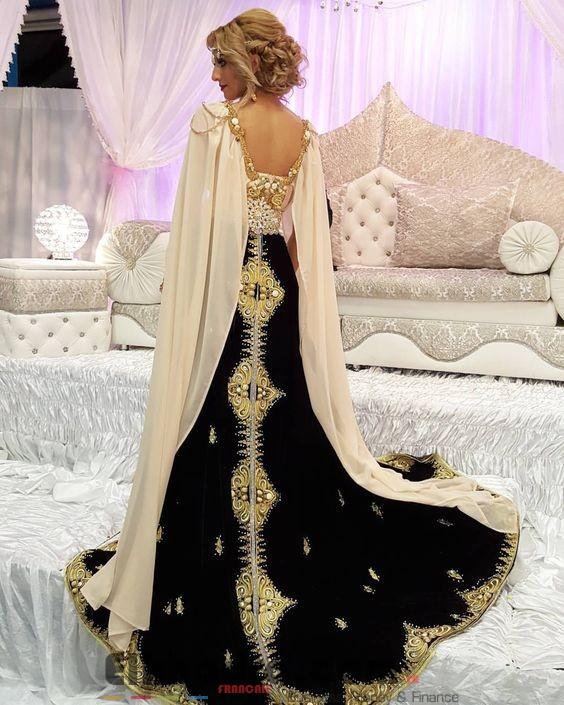 Robe constantinoise moderne - Robe traditionnelle algerienne 3