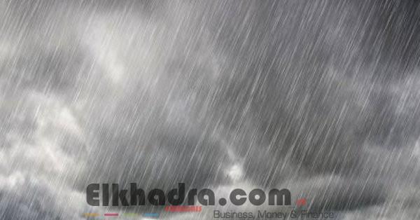 Météo Algérie- Pluie et grêle sur 8 wilayas à partir de ce soir à 18 00 h 4