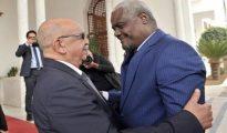 Entretiens à Alger entre MM. Messahel et Faki Mahamat 17
