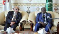 """Faki Mahamat salue le """"soutien actif"""" de l'Algérie pour la mise en œuvre de l'agenda 2063 de l'UA 15"""