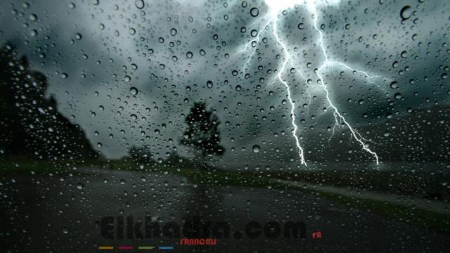 Météo Algérie- Fortes pluies orageuses sur 7 wilayas du Nord 4
