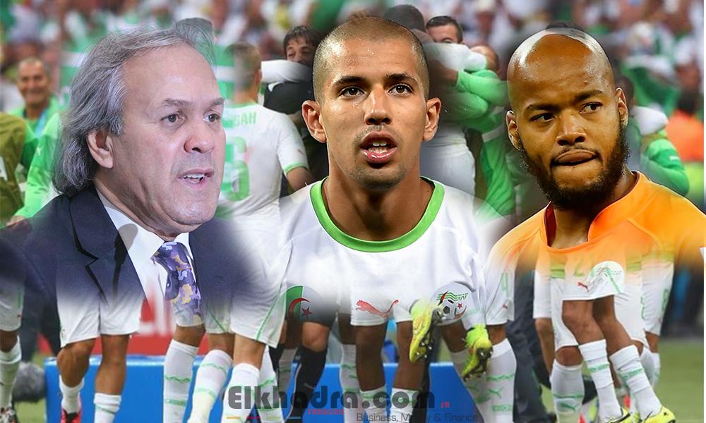 Feghouli,Mbolhi et Boudebouz enfin de retour en équipe nationale 4