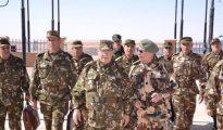Gaïd Salah en visite de travail à la 6ème Région militaire à Tamanrasset ce dimanche 11