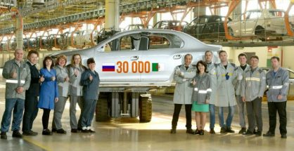 Renault Russie a livré 30 000 carrosseries Renault Symbol à l'usine Renault Algérie Production 2