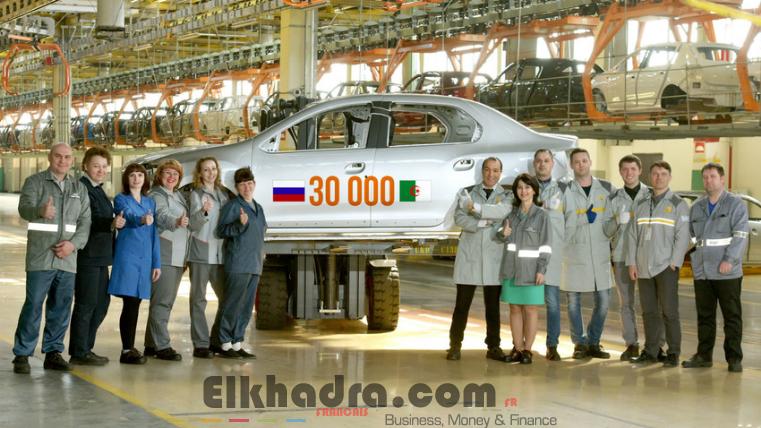 Renault Russie livre à l'Algérie sa 30 000ème carrosserie produite localement 4