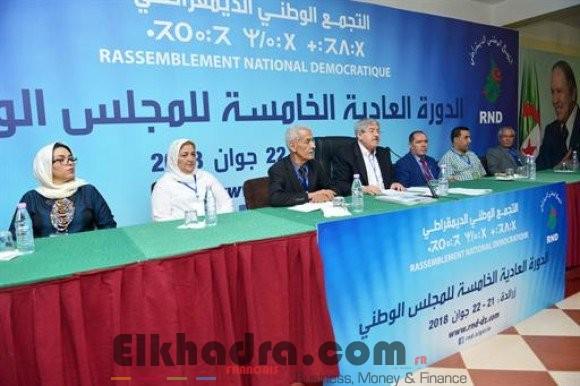 Présidentielle 2019: le Conseil national du RND adopte l'appel à candidature du Président Bouteflika 4