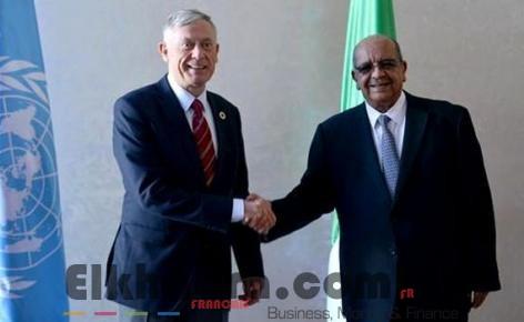 Messahel reçoit l'émissaire onusien pour le Sahara occidental, Horst Kohler 4