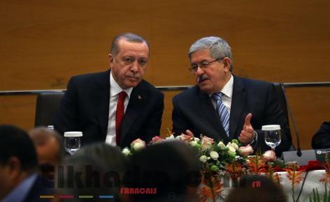 Ouyahia transmet les félicitations du Président Bouteflika à son homologue turc 4