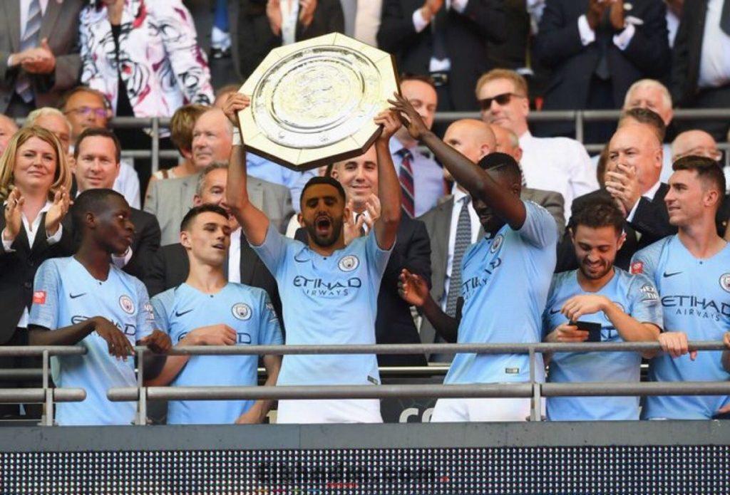 Riyad Mahrez remporte son premier titre avec Manchester City 4
