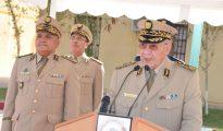 Gaïd Salah installe le Général-Major Mostefa Smaali dans ses nouvelles fonctions de Commandant de la 3ème RM 23