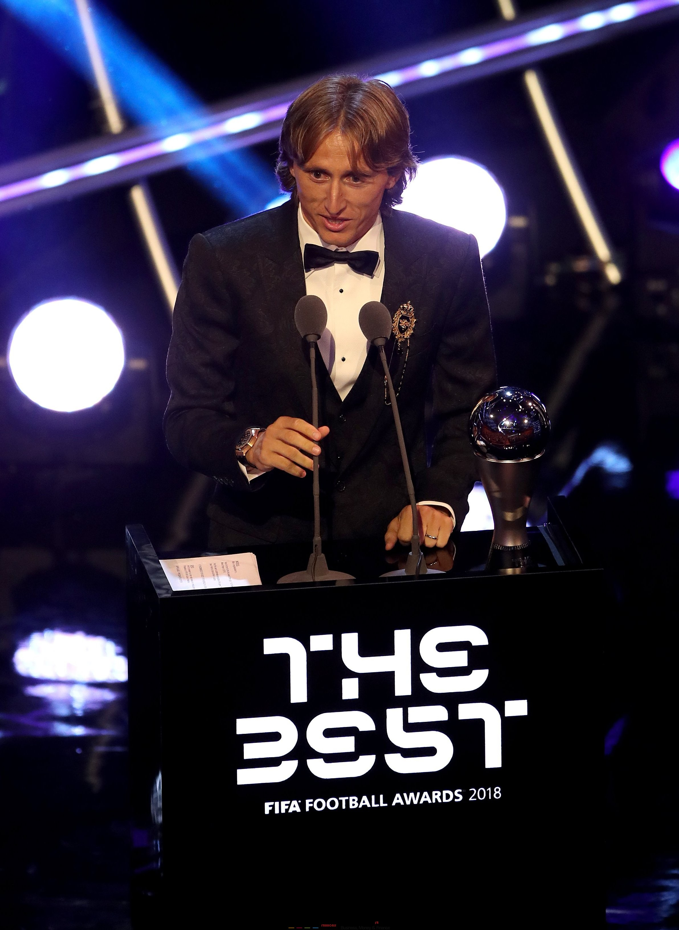 The Best FIFA Football Awards 2018 in London 2