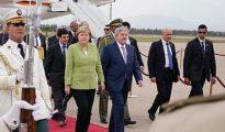 La chancelière Allemande débute une visite officielle en Algérie 18