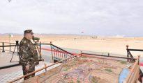 Gaïd Salah supervise l'exécution d'un exercice démonstratif combiné avec munitions réelles 18