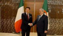 Ouyahia s'entretient avec le président du Conseil des ministres italien 10