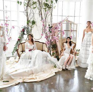 tendance robe de mariée 2019 : grands stylistes 9