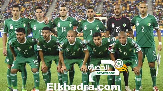 المنتخب الجزائري يحافظ على المرتبة الـ18 لترتيب الفيفا لشهر فيفري 2015 31