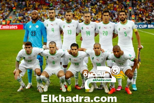 المنتخب الجزائرى يحافظ على موقعه في صدارة المنتخبات الأفريقية والعربية في تصنيف مارس للفيفا 24